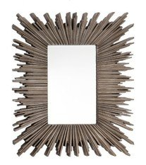 R V Astley Darcey Silver Leaf Finish Mirror
