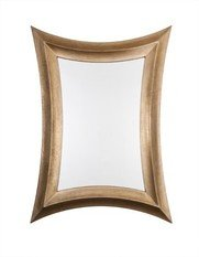 R V Astley Distressed Bronze Coco Mirror