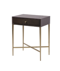 R V Astley Finley Chocolate Side Table