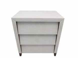 R V Astley Iced Ivory 3 Drawer Chest