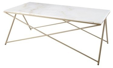 R V Astley Naill Marble Top Coffee Table