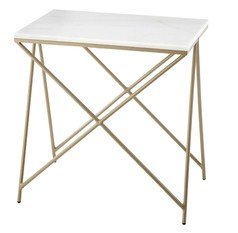 R V Astley Naill Marble Top Side Table