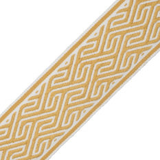 Samuel & Sons Labyrinth Goldenrod Border
