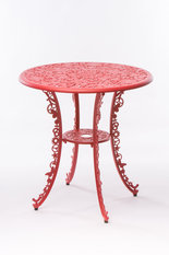 Seletti Red Round Table