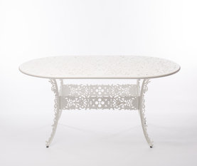 Seletti White Oval Table