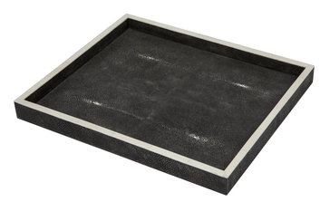 Simon Orrell Designs Shagreen and Bone Rectangular Medium Tray