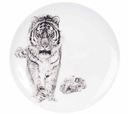 The New English Bang (Siberian Tiger) Coupe Plate