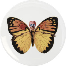The New English Lepidoptera Croceus Cake Plate