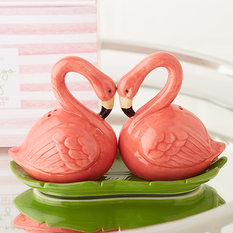 Twos Company Flamingo Salt & Pepper Shaker