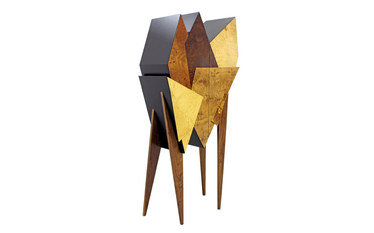 UMOS Design Mutation Wood's Cabinet