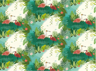 Villa Nova Amazon River Fabric