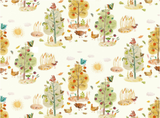 Villa Nova Apples and Pears Fabric
