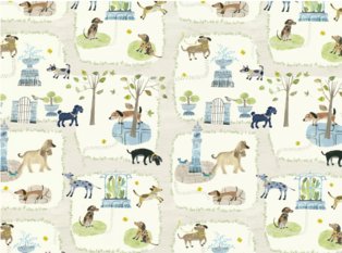 Villa Nova Bark Life Fabric