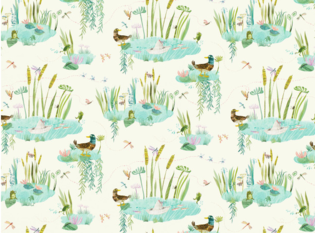 Villa Nova Duck Pond Fabric
