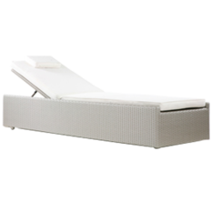 Westminster Valencia Platinum Lounger with Wheels