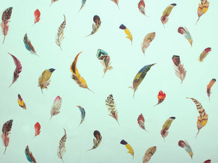 Zimmer & Rohde Birds Gallery Fabric