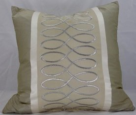 Silk Beige Cushion