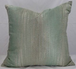 Silk Soft Duck Egg Cushion
